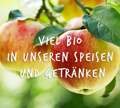 Viele Bioprodukte im Kölner Cafe-deinundmein im Agnesviertel